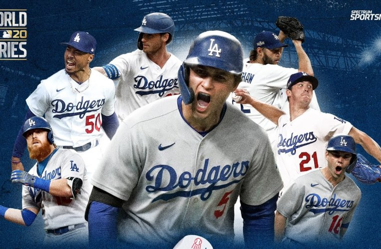 Los Angeles Dodgers Back In The World Series By Joseph Armendariz