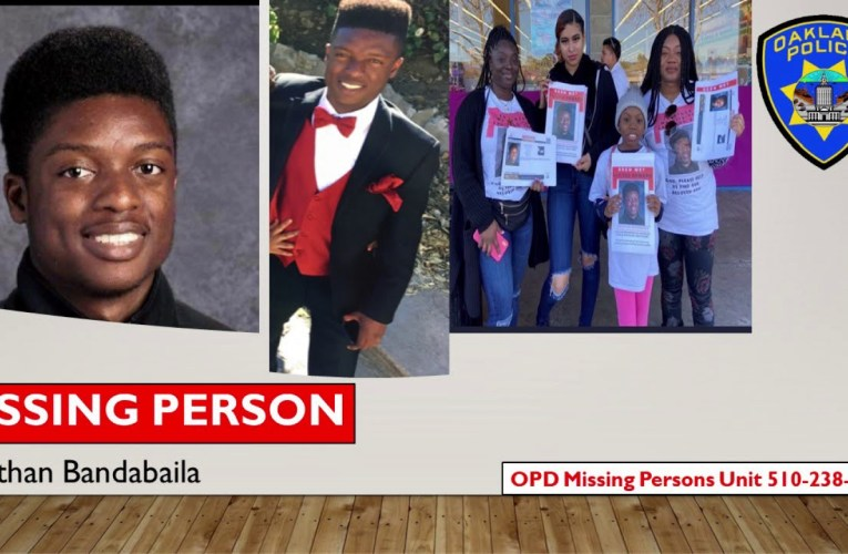 Oakland Police Report Jonathan Bandabaila A Missing Person