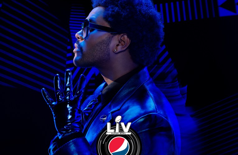 The Weeknd Super Bowl LV Halftime Show By Pepsi, Sunday, February 7, 2021, on CBS