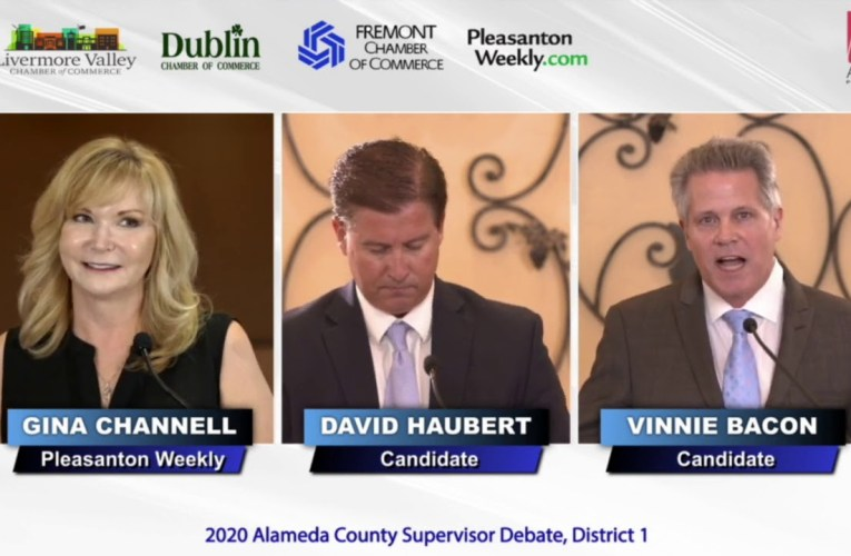 Alameda County Supervisor Candidate Debate, District 1
