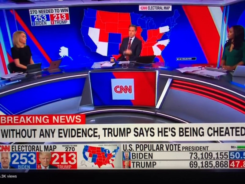 Full Text: The President Trump Election 2020 Update Speech The TV Networks Stopped Running
