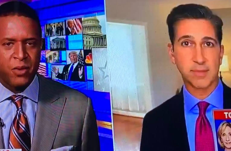 Ken Dilanian Says Cuss Words On Air On MSNBC With Craig Melvin – Melvin's Reaction Is Priceless