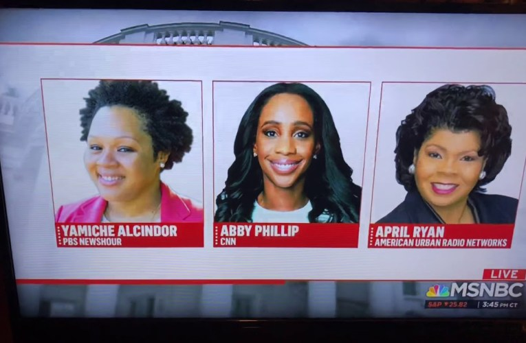 President Trump Disrespectful To Black Female Reporters Yamiche Alcindor, Abby Phillip, April Ryan