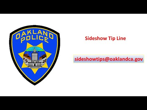 Oakland Police YouTube Video Shows Cars Nabbed As Part Of Sideshow Seizures Program