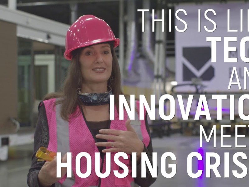 Mighty Buildings: This is like Tech and Innovation meets Housing Crisis! – Mayor of Oakland