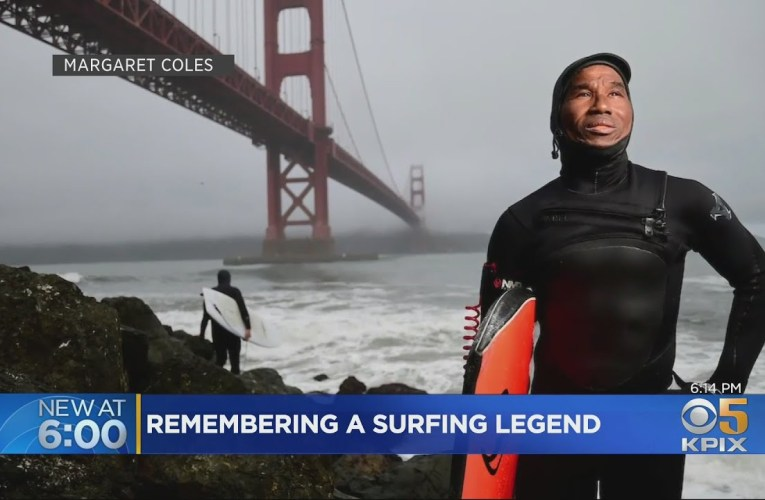 Haruwn Wesley SF Bay Area Surfing Legend Mourned After Deadly Accident