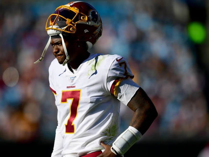 Dwayne Haskins Released From Washington Football Team – Haskins Must Grow Up To Succeed