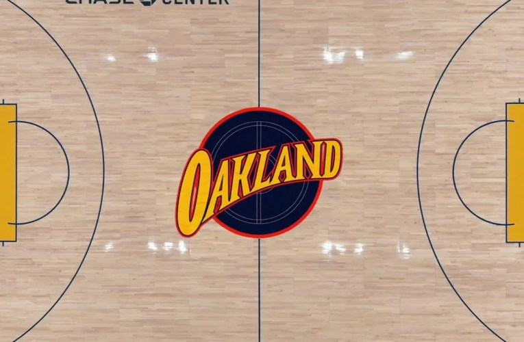 Golden State Warriors Unveil 2020-21 Oakland Forever Court, But Oakland Needs An NBA Team