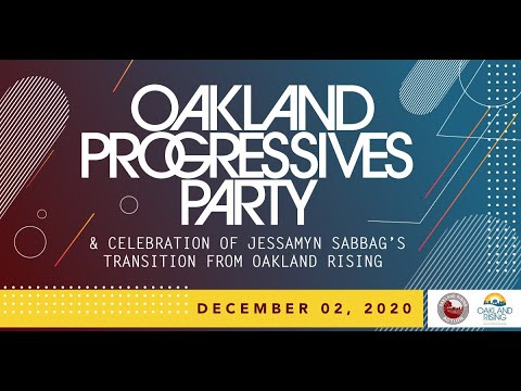 Oakland Progressives Party YouTube Fundraiser Celebrating Oakland Rising's Jessamyn Sabbag