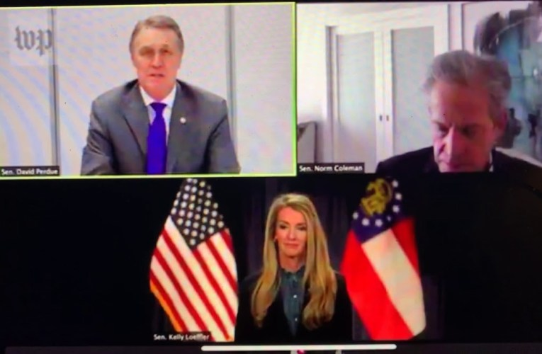 David Perdue Affirmed President Joe Biden Victory, Dissed Trump, In Republican Group Video Call