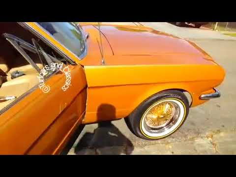 1965 Mustang Clean on Gold Thangs & Vogues in Oakland, Ca