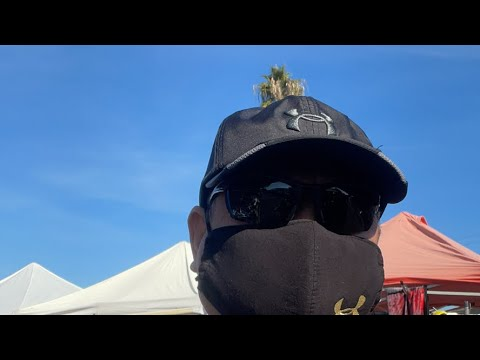 A Visit To The Oakland Coliseum Flee Market By GSF Raven Sikaran On YouTube