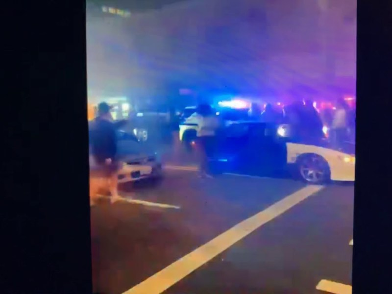 Tacoma Police Run Over People Saturday Night – One Person In The Hospital, Others Injured In Video