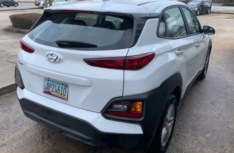 The Hyundai Kona At Enterprise Rental Car Fayetteville, Georgia