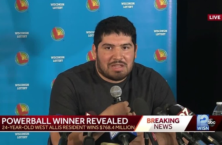 Manuel Franco Is West Allis Man Who Claimed $768M Powerball Jackpot April 2019