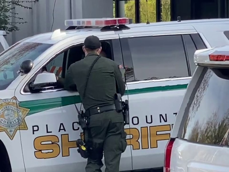 Bay Area Transparency Goes To Placer County, Ca, Where Placer County Sheriff Tries To Bully Him