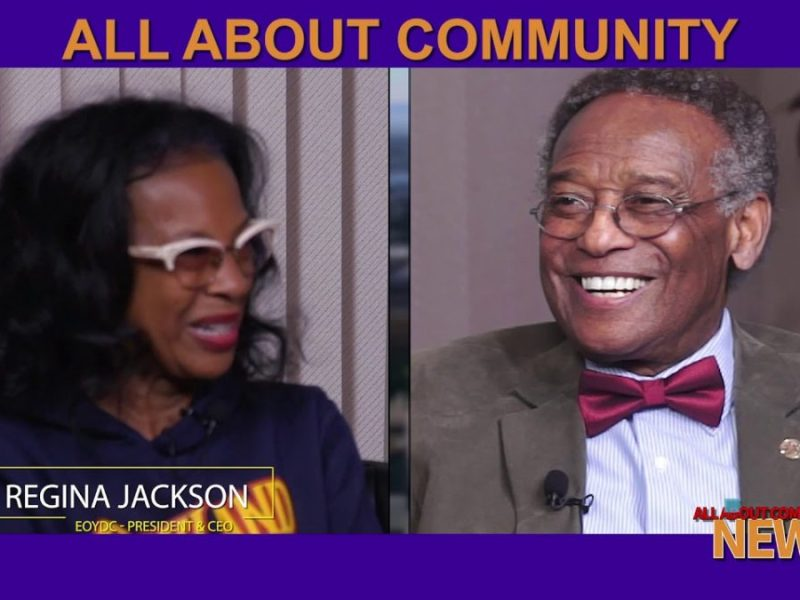 Regina Jackson EOYDC/Chair Of Oakland Police Commission With Robert L. Harris