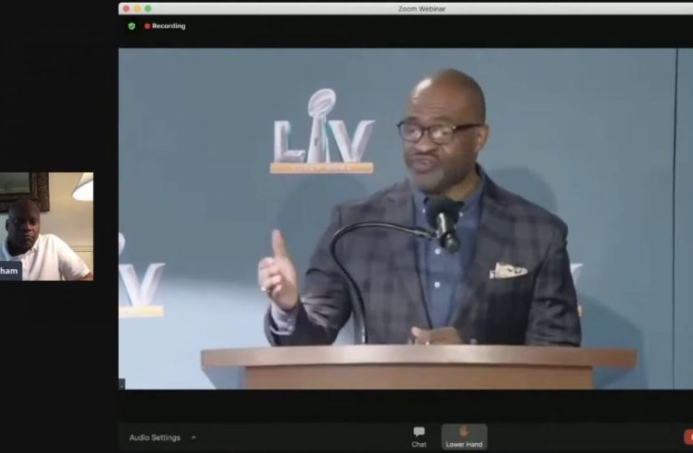 Super Bowl LV: 2021 NFLPA Players Summit Press Conference Livestream Video