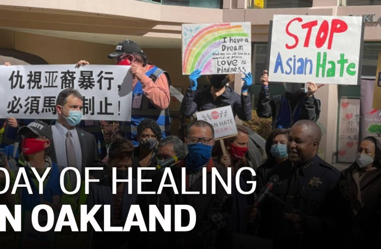 Oakland Residents, City Leaders Gather for National Day of Action and Healing