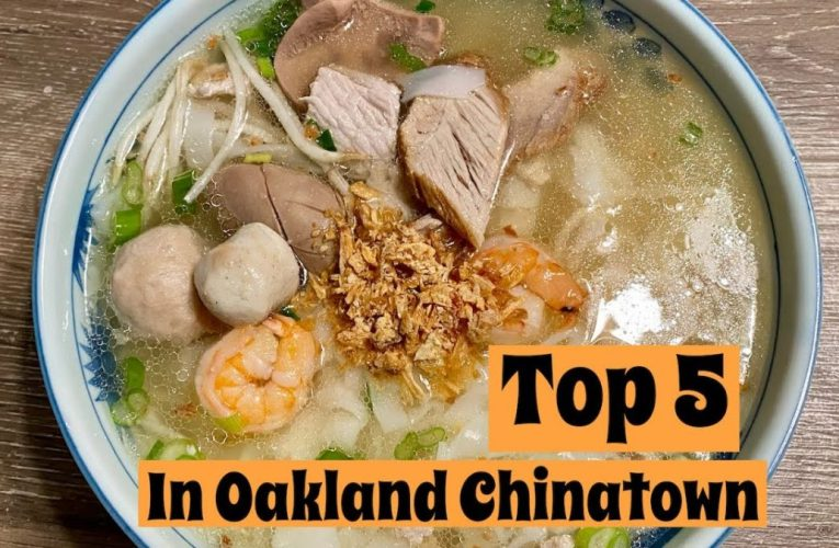 TOP 5 Must Try in Oakland Chinatown