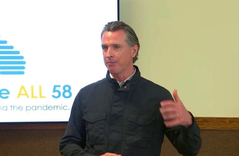 Watch Live: California Gov. Newsom Delivers His Daily Update For March 10, 2021