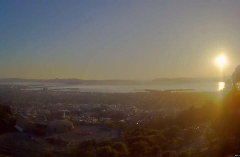2021-03-31 UC Berkeley Space Sciences Laboratory 24 hr Time-Lapse View of the San Francisco Bay Area