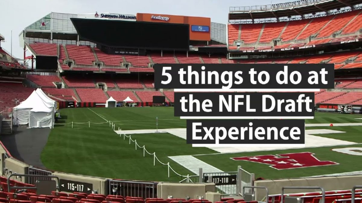 5 things to do at the 2021 NFL Draft Experience