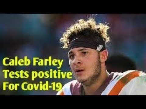 Caleb Farley Test Positive For COVID-19 Before NFL Draft. By Joseph Armendariz