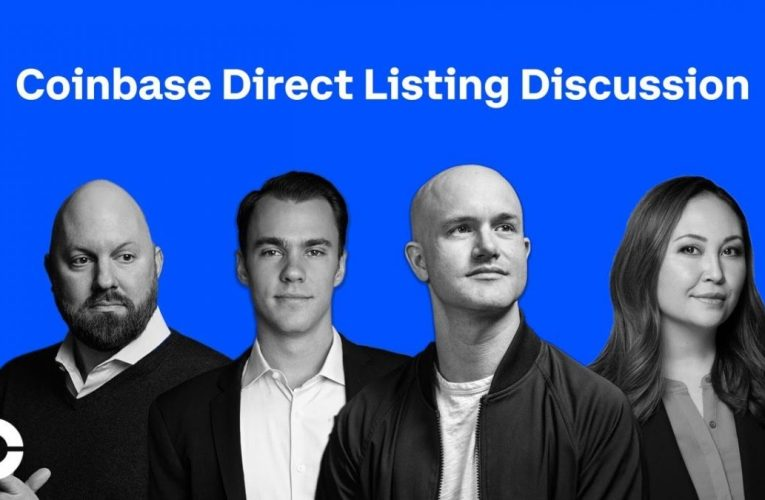 Coinbase Direct Listing Discussion