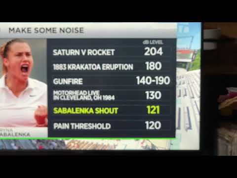 Aryna Sabalenka Yell At Tennis Matches Compared To Rock Concerts, Saturn V Rocket