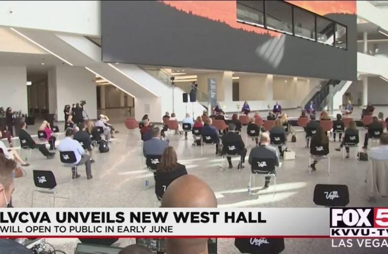 West Hall opens at Las Vegas Convention Center
