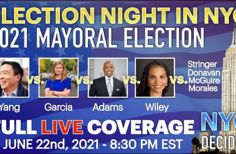 2021 New York City Mayoral Election Night Live | Full Coverage