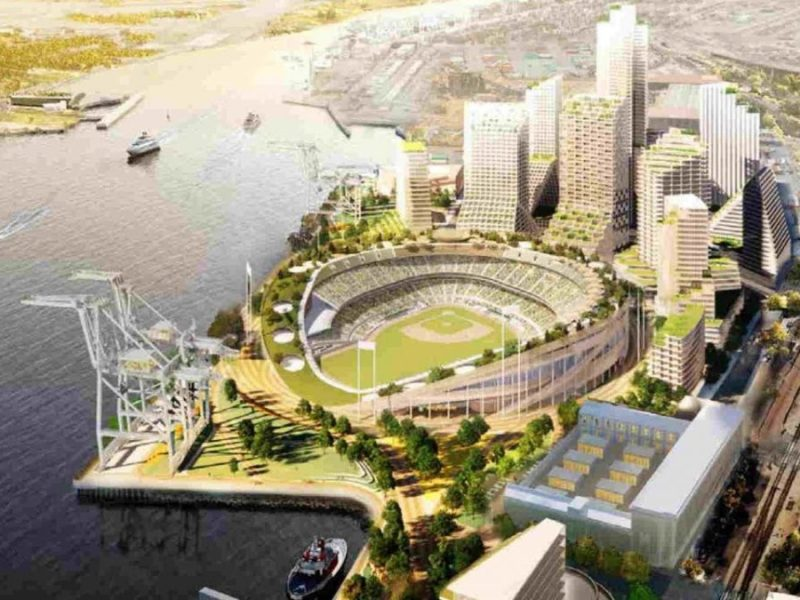 State Of California Slated To Put $200 Million In Oakland A's Howard Terminal Ballpark