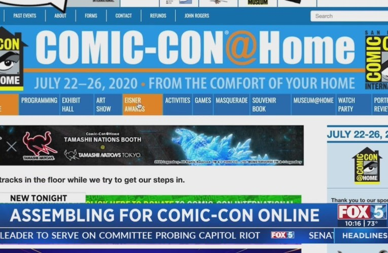 Comic-Con 2021: Virtual Showcase Returns With Panels, Fan Contests And More