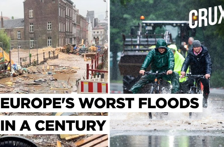 Europe Floods: At Least 70 Dead As Rain Breaks 100-Year Record, Hundreds Missing In Germany