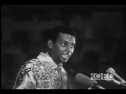H. Rap Brown, Stokely Carmichael rally in Oakland Auditorium (1968)