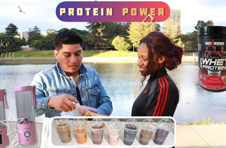 Healthy Protein Smoothies Blended Jetpacks And Sixstar. Protena Saludable. Lake Merritt Oakland
