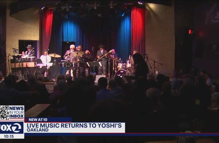 Yoshi's In Oakland Has Live Music Performances Again After Pandemic Closure