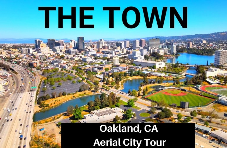 Oakland Aerial City Tour and Historical Sites (4k Drone Video)