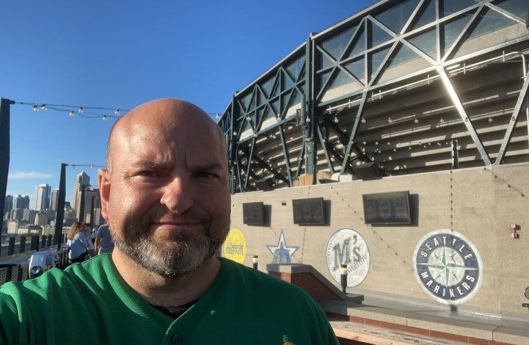 Oakland Athletics vs. Seattle Mariners – T-Mobile Park View – by Richard Haick