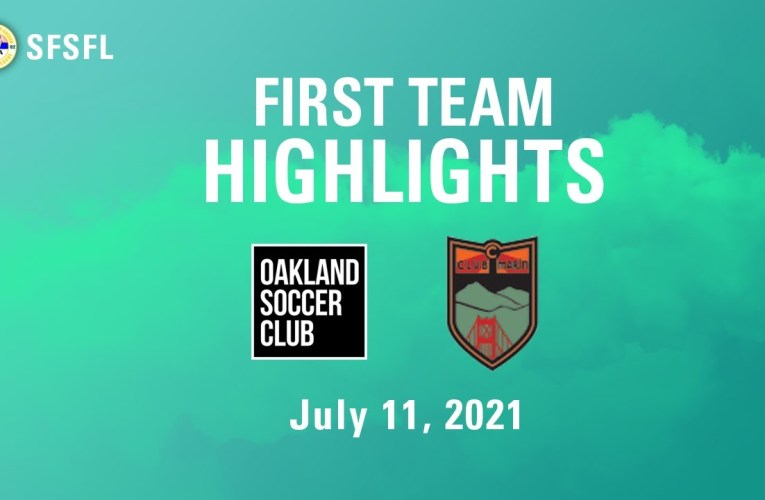 Oakland SC v Club Marin with commentary