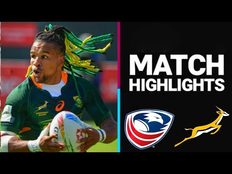 South Africa Vs USA Highlights | Rugby 7s | Olympics Highlights 2021