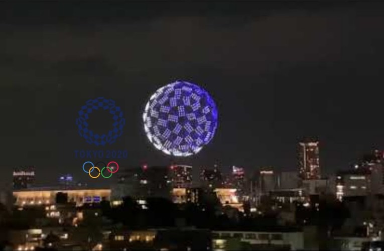 Tokyo Olympics 2021 Opening Ceremony | Drone Show | Drone Display | Olympic 2021 Drone Show Preview