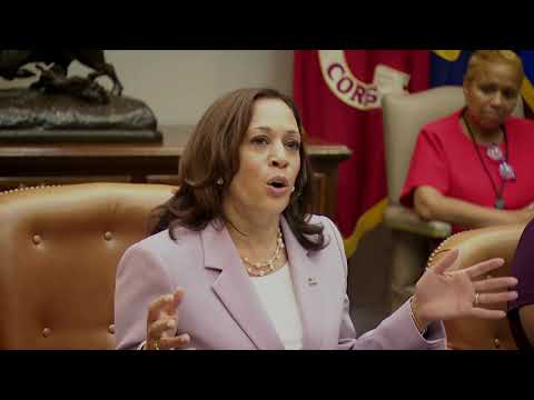 Vice President Harris Meets with the Black Women's Roundtable, NCNW and Other Women Leaders