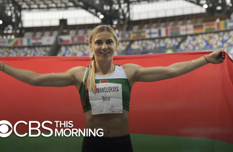 Belarusian sprinter received dire warning from grandmother to not return home