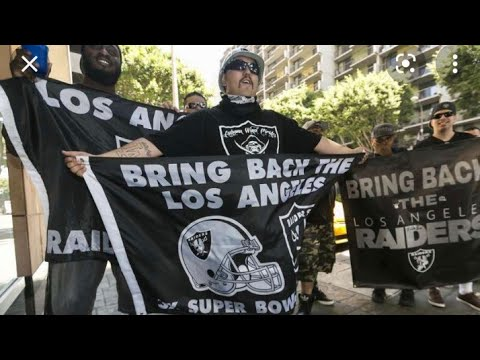 Las Vegas Raiders The City Of Los Angeles Will Always Be A Raider Town By Eric Pangilinan
