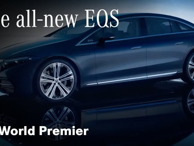 World Premiere Of The All-Electric Mercedes Benz EQS