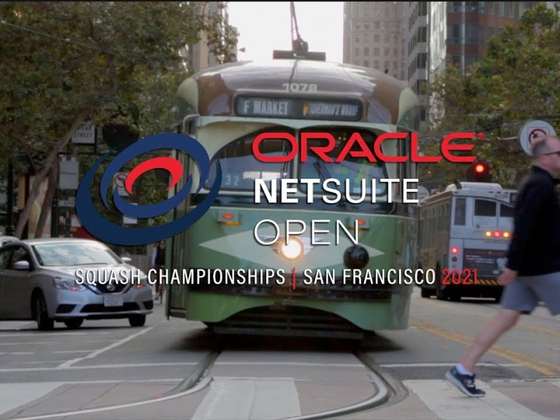 2021 Oracle NetSuite Open Squash Championships Promo