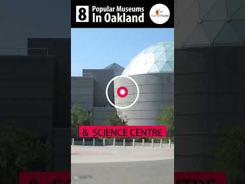8 Most Popular Museums To Visit In Oakland, California #Shorts #TheTopTours