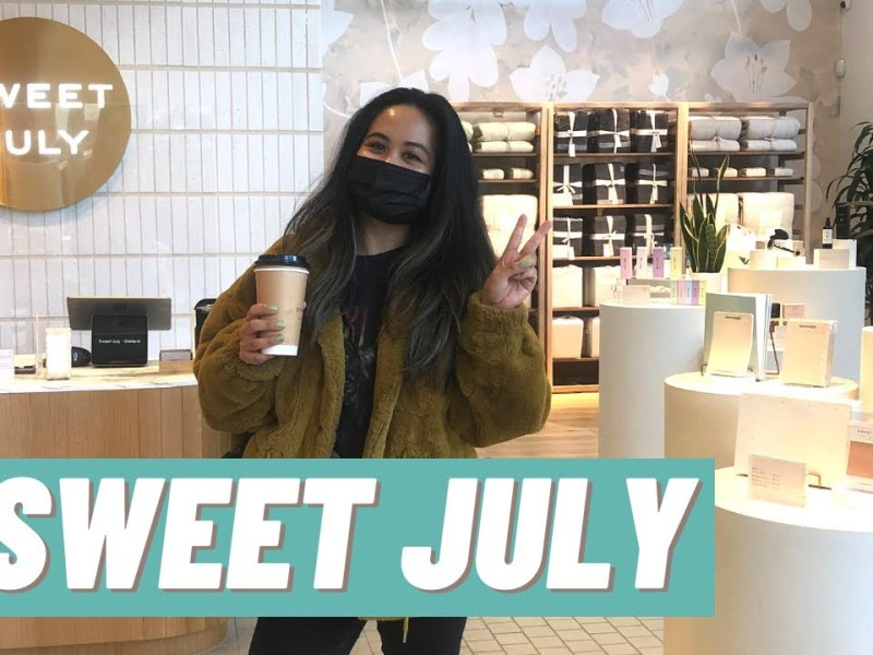 A Tour Of Ayesha Curry's Sweet July Storefront And Cafe Downtown Oakland Vlog